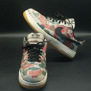NIKE AIR FORCE 1 LV8 REFLECTIVE CAMO MEN'S SHOES